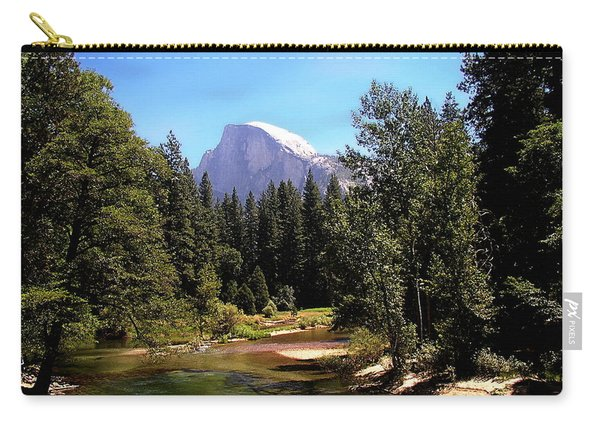 Half Dome From Ahwanee Bridge - Yosemite Carry-all Pouch