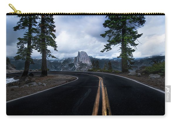 Half Dome In Yosemite National Park Carry-all Pouch