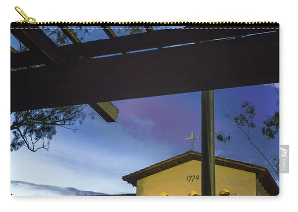 Half Staff At The Slo Mission Carry-all Pouch
