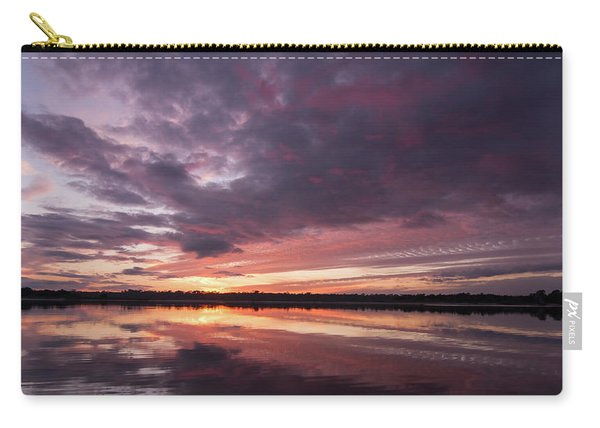 Halifax River Sunset Carry-all Pouch