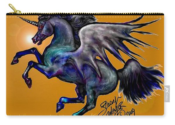 Halloween Fantasy Horse Carry-all Pouch