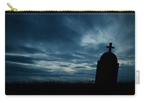Halloween Graveyard Background Carry-all Pouch
