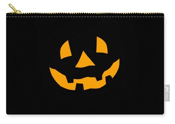 Halloween Pumpkin Tee Shirt Carry-all Pouch