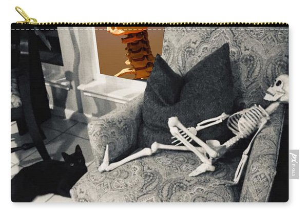 Halloween Window Dressing Carry-all Pouch