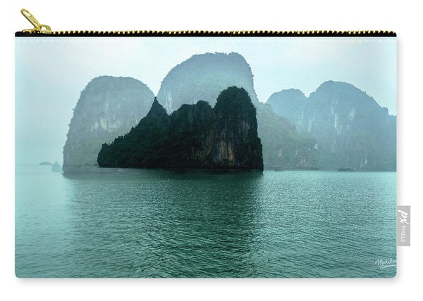 Halong Bay Mountains, Vietnam Carry-all Pouch
