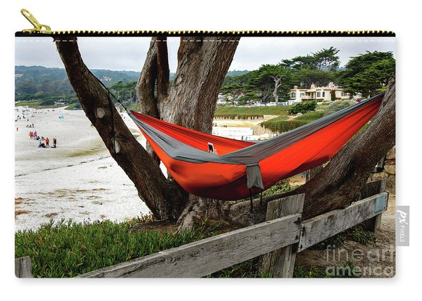 Hammock By The Sea Carry-all Pouch