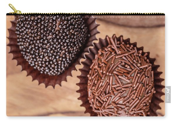 Hand Rolled Gourmet Chocolate Truffels Carry-all Pouch