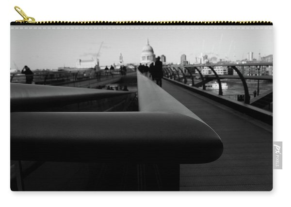 Carry-all Pouch featuring the photograph Handrail by Edward Lee