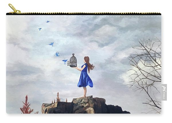 Happiness Released Carry-all Pouch