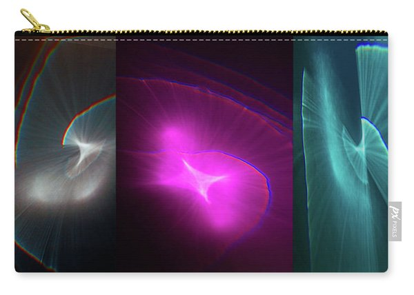 Happy Accident Triptych Carry-all Pouch