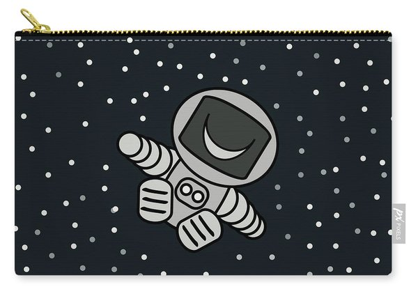 Happy Astronaut Carry-all Pouch