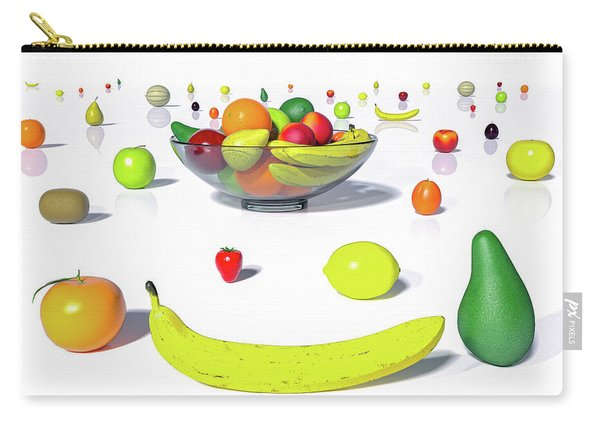 Happy Fruit Carry-all Pouch