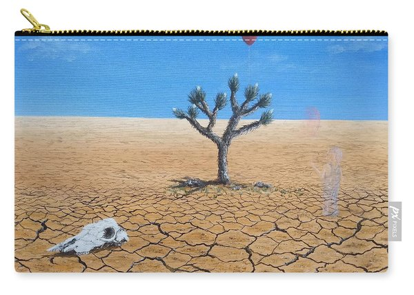 Carry-all Pouch featuring the painting Happy Little Tree by Kevin Daly