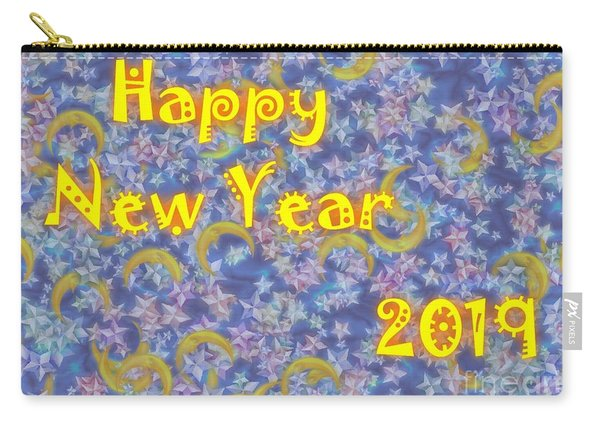 Happy New Year 2019 Carry-all Pouch