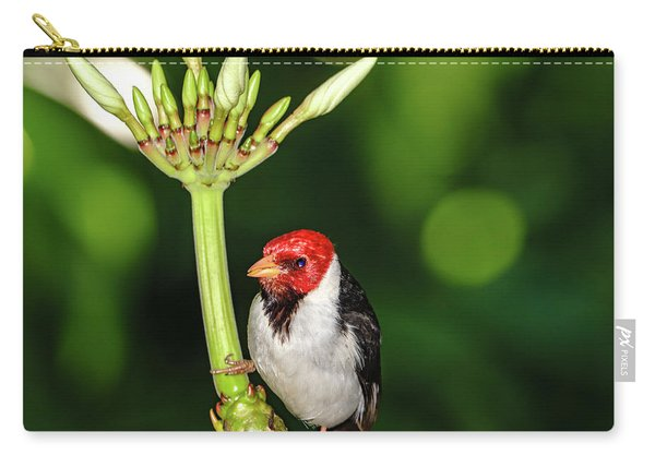 Happy Valentine's Day Bird Carry-all Pouch