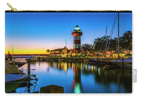 Harbor Town Lighthouse - Blue Hour Carry-all Pouch