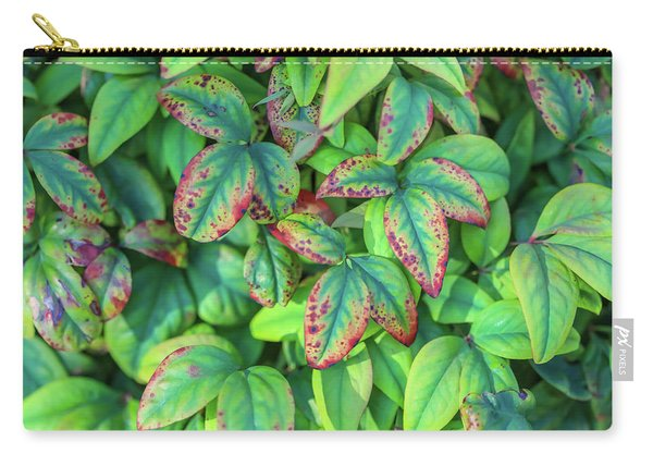 Harmony In The Garden Carry-all Pouch