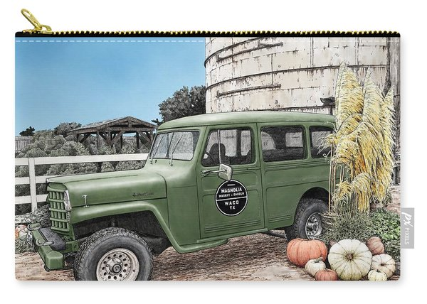 Harvest At Magnolia Carry-all Pouch