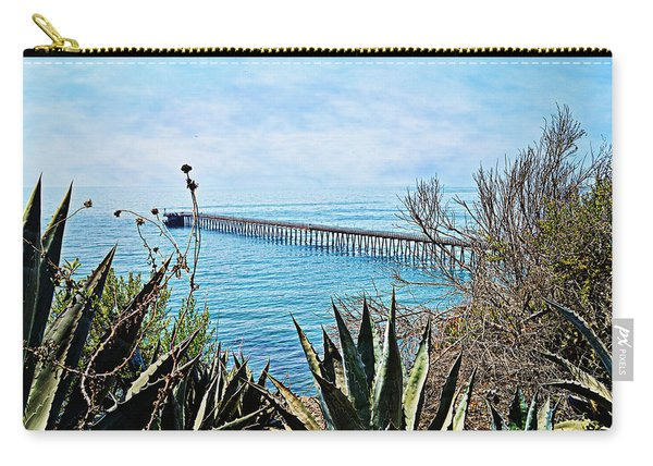 Haskell Beach Pier Carry-all Pouch
