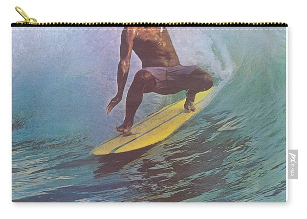 Hawaii Surfer Carry-all Pouch