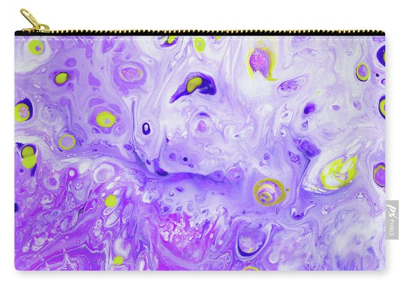 Hawiian Purple Princess Flower Carry-all Pouch