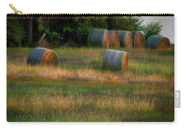 Hay Bales Carry-all Pouch