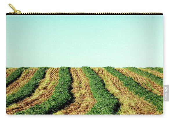 Hay Rows Carry-all Pouch