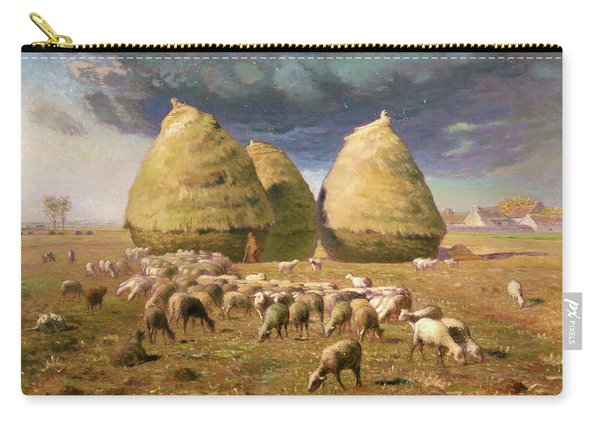 Haystacks, Autumn - Digital Remastered Edition Carry-all Pouch