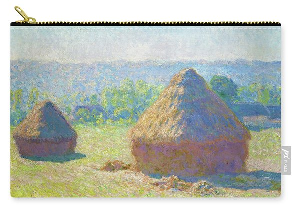 Haystacks, End Of Summer - Digital Remastered Edition Carry-all Pouch