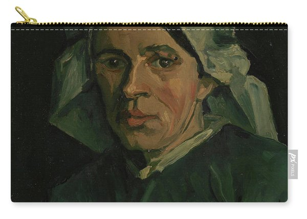 Head Of A Woman - 3 Carry-all Pouch