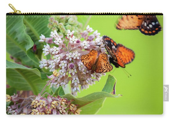 Head Over Heals For Milkweed Carry-all Pouch