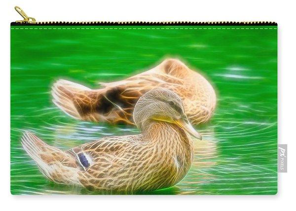 Headless Honey Duck Fibers Carry-all Pouch
