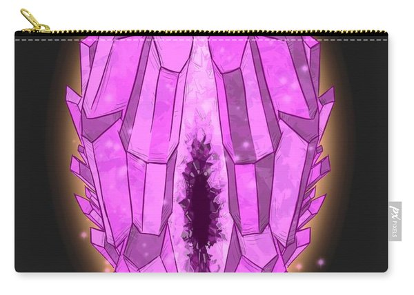 Healing Crystals Carry-all Pouch