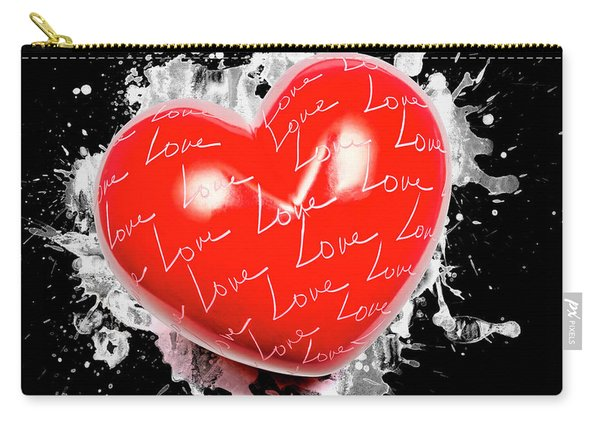 Heart Art Carry-all Pouch
