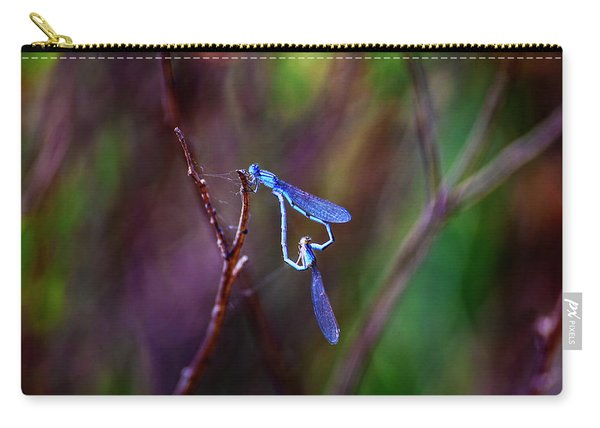 Heart Of Dragonfly Carry-all Pouch