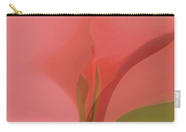 Carry-all Pouch featuring the digital art Heart Of The Matter by Gina Harrison