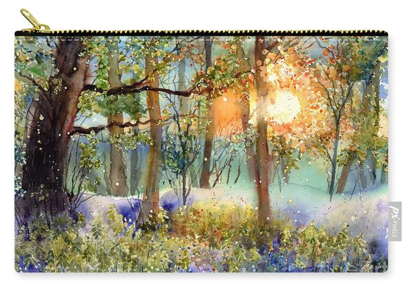 Heathers In Gold Carry-all Pouch