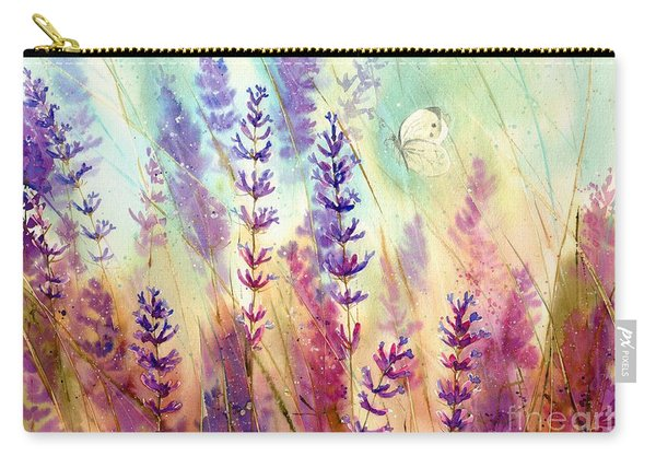 Heathers In Haze Carry-all Pouch