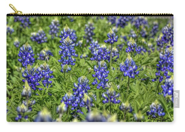 Heavenly Bluebonnets Carry-all Pouch