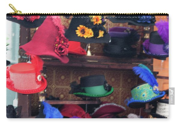 Heavenly Hats In Pastel Squared Carry-all Pouch