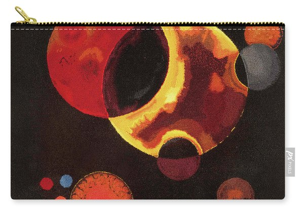 Heavy Circles Carry-all Pouch
