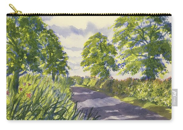 Hedgerows On Rudston Road Carry-all Pouch