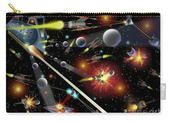 Hell In Space Carry-all Pouch
