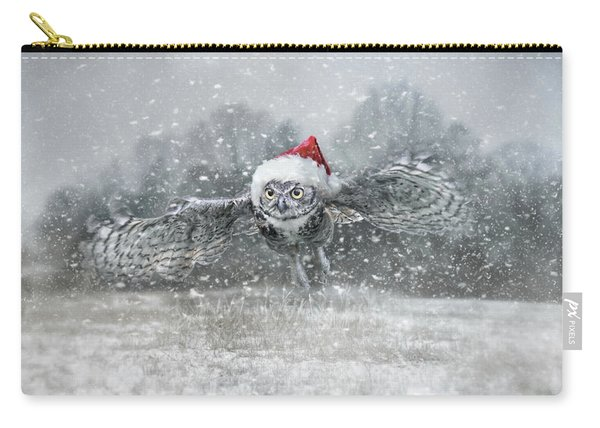 Here Comes Santa Claws Carry-all Pouch