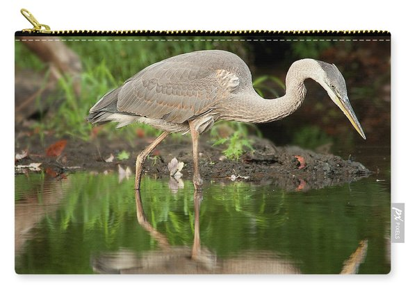 Heron Fishing Carry-all Pouch