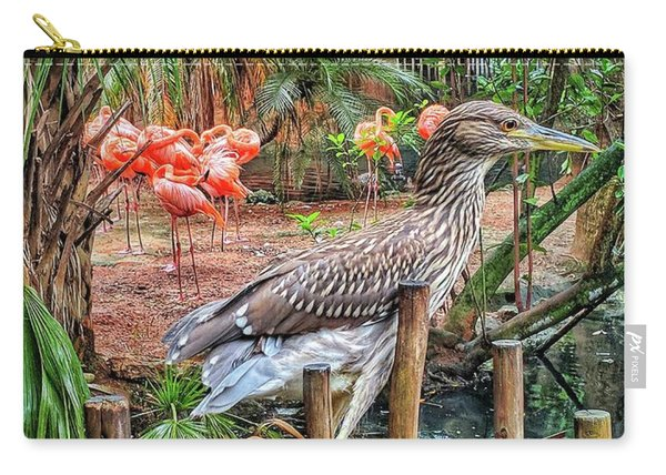 Heron On Guard Carry-all Pouch