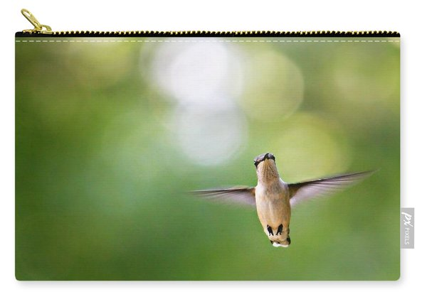 Carry-all Pouch featuring the photograph Hi by Candice Trimble