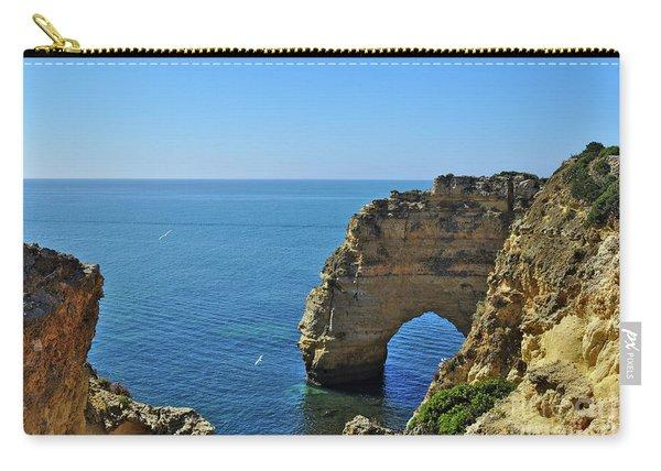 Hidden Arch In Marinha Beach Carry-all Pouch