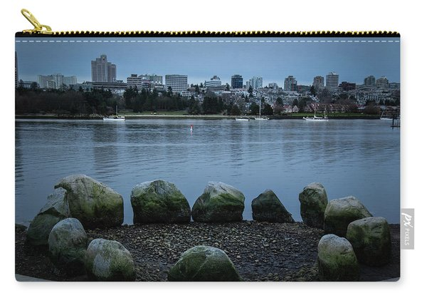 Carry-all Pouch featuring the photograph High And Low Tide by Juan Contreras