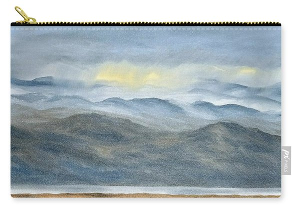 Carry-all Pouch featuring the painting High Desert Morning by Kevin Daly